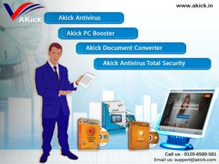 AKick - Security Products | Free Virus Protection