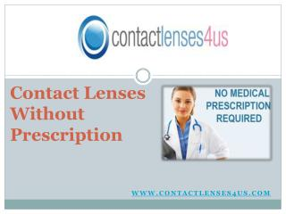 Shop for Best Quality Contacts Without Prescription