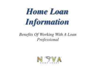 Home Loan Info | Nova Home Loans