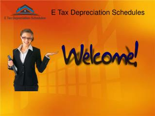 Tax Depreciation Schedules