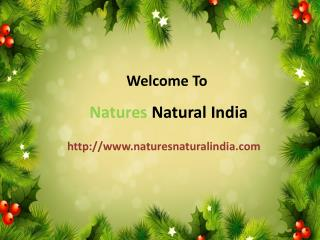 Buy Natural Essentinal Oils Online @ Naturesnaturalindia.com
