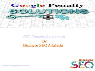 SEO Penalty Assessment service Adelaide