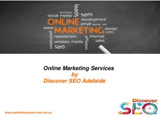 Online marketing Discover SEO Adelaide