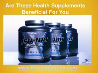 Flex Appeal   Supplements South Reno