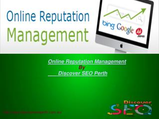 Online Reputation Management | Discover SEO Perth