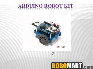 Buy Arduino Robotic kit By Robomart India