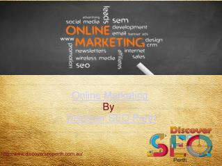 Online Marketing Service| Discover SEO Perth