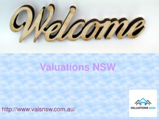 Get Property Settlement Valuations With Valuations NSW