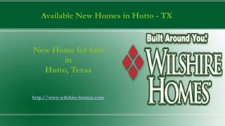Efficient New Homes in Hutto for Sale - TX