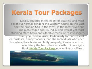 Kerala tour packages at Low Price