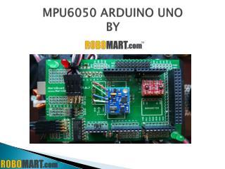 mpu6050 arduino uno By Robomart