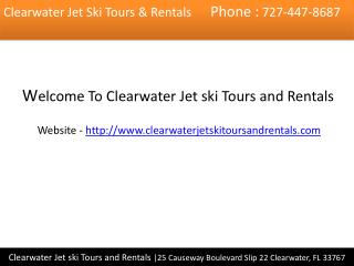 Jet ski rentals clearwater fl