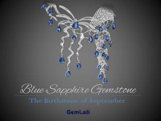 Blue Sapphire - The Birthstone of September