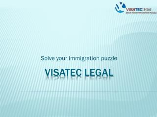Solve your immigration puzzle with Visatec Legal