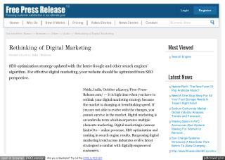 Rethinking of Digital Marketing
