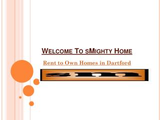 Rent to own homes in Dartford
