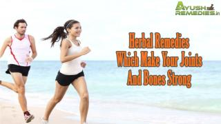 Herbal Remedies Which Make Your Joints And Bones Strong