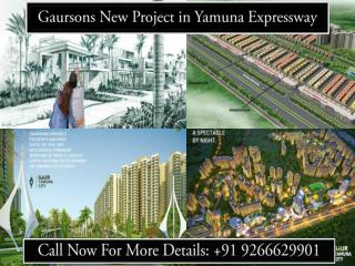 Gaursons New Project in Yamuna Expressway