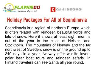 Holiday Packages For All Of Scandinavia