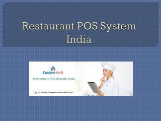 Restaurant POS System India