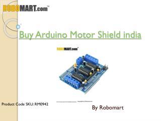 Buy Arduino Motor Shield india