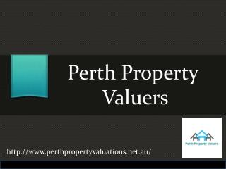 Property Valuation With Perth Property Valuers