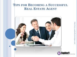 Tips for Becoming a Successful Real Estate Agent