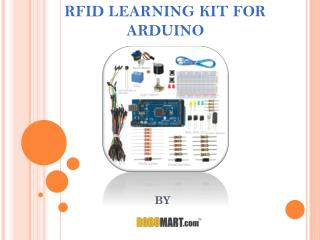 Arduino RFID Learning Kit - Robomart
