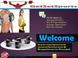 Athletic Equipments manufacturers and Suppliers in Punjab