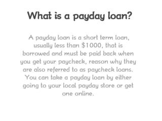 Payday Loan Online Approval