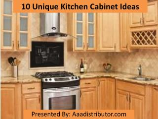 10 unique kitchen cabinet ideas