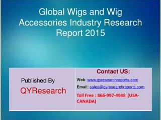 Global Wigs and Wig Accessories Market 2015 Industry Analysis, Forecasts, Study, Research, Outlook, Shares, Insights and