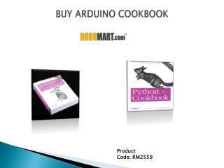 Buy Arduino Cookbook
