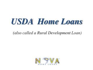 USDA Home Loans | Nova Home Loans