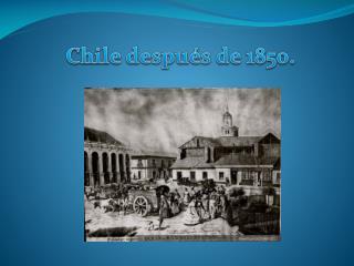 cuestión social,Chile 1850.