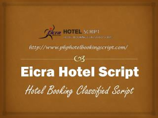 PHP Hotel Booking Script_An Online Solution For Hotel Reservaion