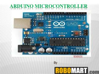 buy arduino microcontroller by Robomart India