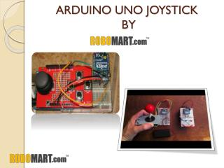 Arduino Uno Joystick By Robomart