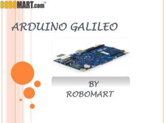 BUY ARDUINO GALILEO