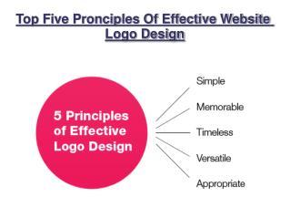 Top Five Pronciples Of Effective Website Logo Design