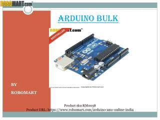 Buy Arduino bulk