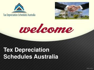 Tax Depreciation Schedules Sydney in Australia.
