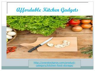 Affordable Kitchen Gadgets