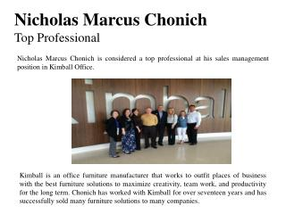 Nicholas Marcus Chonich-Top Professional