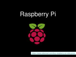 Buy Raspberry Pi in India