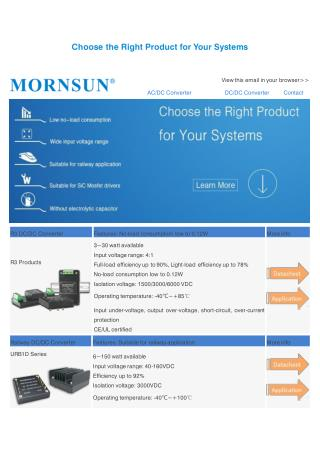 Choose the Right Product for Your Systems