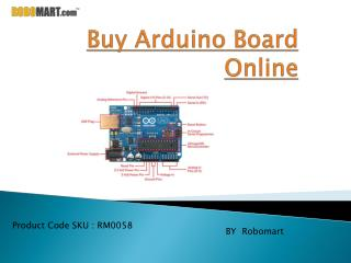 Buy Arduino Board Online By Robomart