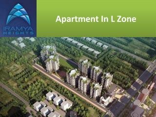 Apartment in L Zone   iramya.com