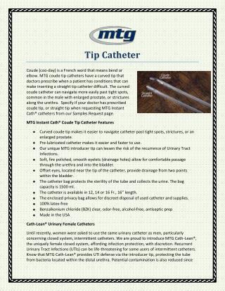 Tip Catheter