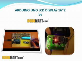 Arduino uno lcd display 16x2